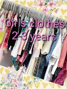 Girls Clothes Make Your Own Bundle Size 2-3 years Dress Coat Jean Legging Blouse