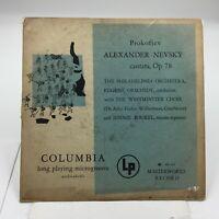 Andy Warhol  Cover Art - Prokofiev Alexander Nevsky  Columbia ML 4247 ( TAPE )