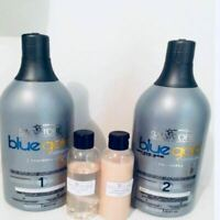 Lissage Sans Formol au Tanin BLUE GOLD PREMIUM 2x250ml (Taninoplastie)