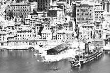 Reconnaissance Photo Aerial View Ancona Italy- Operation Strangle- 1941-1945