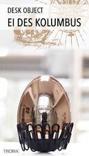 TROIKA EGG OF COLUMBUS Paper Clip Holder Magnet Rose-Gold EXECUTIVE DESK GIFT
