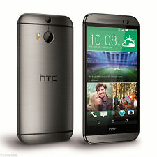 HTC ONE M8 32GB 4G LTE GREY 100% UNLOCKED + 12MTH WTY (NEW SEALED BOX)