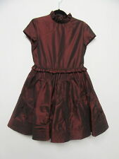 I PINCO PALLINO burgundy dress girls sz 8Y