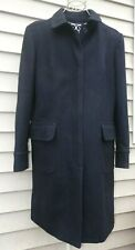women's GAP long wool navy peacoat coat jacket XL