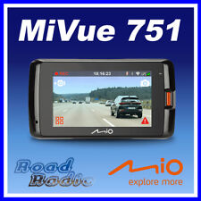 Mio Mivue 751 Car Dash Car,DVR with GPS & Speed Camera, 2.5K QHD Video Recording