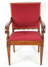 Vintage English Walnut Carver Armchair - FREE Shipping [PL4273]