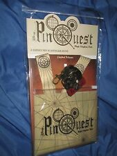 MAGIC KINGDOM PARK PIN QUEST Scavenger Hunt LTD RELEASE Set Map/Lanyard DISNEY