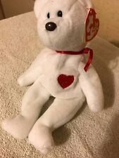 Extremely Rare! 1st  VALENTINO 1993 TY INC Beanie Baby w 2 Swing Tag Errors PVC