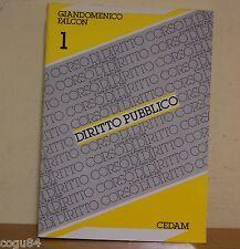 Diritto Pubblico  - G. Falcon - 1^ Edizione Cedam 1988