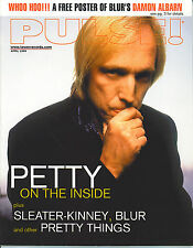 4/99 issue of PULSE magazine  TOM PETTY cover  Blur