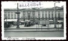 Toulouse . marché place du Capitole . photo ancienne . Juin 1946