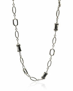 John Hardy Sterling Silver Bamboo Necklace NB5191X24 MSRP $1195