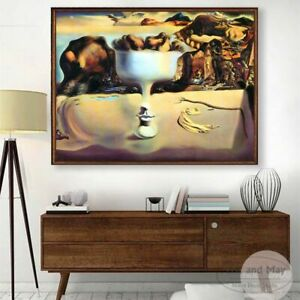 New Surrealism Canvas Art Print Painting Poster Wall Pictures For Living Room