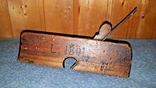 alter Hobel, altes Werkzeug, Tischler Schreiner Deko c