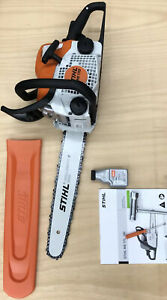 """NEW! STIHL MS170 Chainsaw W/16"""" Bar, Tools, Scabbard , 2-cycle Oil & Manual"""