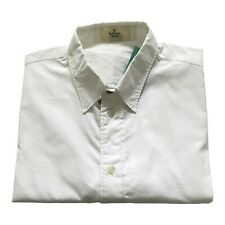"""Paul Smith RED EAR  Long Sleeve White Shirt  Tailored Fit Size M  pit 2 pit 20"""""""