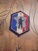 Ancien Ecusson Militaire France et 5em Régiment ? A identifier
