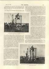 1898 ingegneri GIOCHI secchio e bastone INZUPPANDO Bromley culla CHAMPION Bulldog
