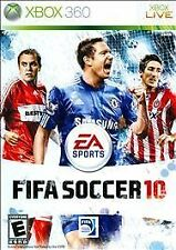 FIFA Soccer 10 (Microsoft Xbox 360, 2009) Futbol Football Game Disc Only