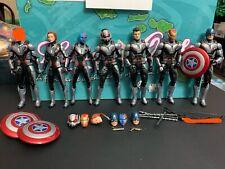 Marvel Legends Quantum Suit Lot Captain America Black Widow Iron Man Hawkeye etc