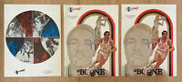 VINTAGE 1970s ABA UTAH STARS BASKETBALL PROGRAM - LOT OF 3