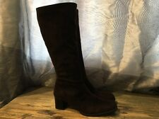 Santana Canada Side Zips Up High Heels Knee High Boots Size 8.5 M