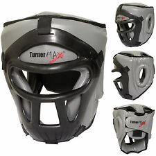 TurnerMAX Kick Boxing Head Guard Protezione Per Viso Casco MMA