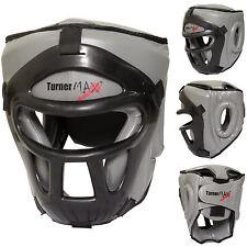 TurnerMAX Kick Boxing Head Guard Face Protector Helmet MMA