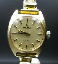 "X286⭐⭐ Vintage "" Olma "" Damenuhr Handaufzug Armbanduhr A758 ⭐⭐"