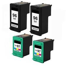 4PK HP 96 97 Ink For OfficeJet 7410xi 7310 7310xi Photosmart 8050 8053 8150 8400