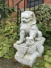 Large Vintage Victorian Style Chinese FOO DOG Dragon Garden Ornament
