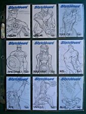 1998 SKYBOX MARVEL CREATORS COLLECTION 98 *SKETCHBOARD SET* OF 23 (mixed)