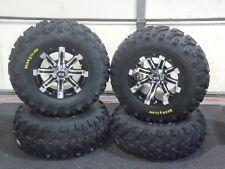 "HONDA FOREMAN 450  25"" BEAR CLAW ATV TIRE & CYCLONE WHEEL KIT SRA1CA"