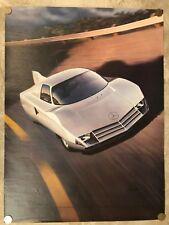 Mercedes Benz C-111/3 Coupe Concept Car ORIGINAL Large Poster RARE! Awesome L@@K