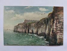 Margate Vintage colour Postcard c1930s The Cliffs