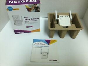NETGEAR WiFi Range Extender - WN3000RP - WiFi Up To 300 Mbps  Manual & Orig. Box