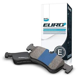 Bendix EURO Brake Pad Set Rear DB1382 EURO+ fits Smart Forfour 1.3 (454) 70kw...