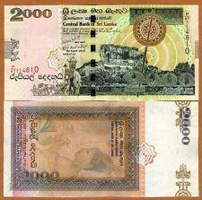 Sri Lanka, 2000 Rupees, 2006, P-121b, UNC > Withdrawn Denomination