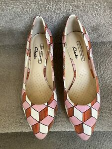 Clarks Eley Kishimoto Court Shoes Size 5.5
