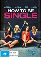 HOW TO BE SINGLE Rebel Wilson (DVD, 2016) NEW