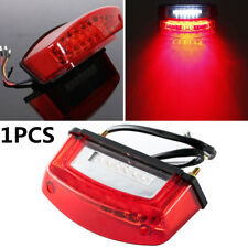 1PC 12V 21 LED Motorcycle Rear Tail Brake Light License Number Plate Lamp 3 wire