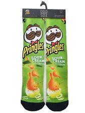 Odd Sox Pringles Crew Socks Men's Shoe Size 6-13 Fun Gift Chips Food S12 M