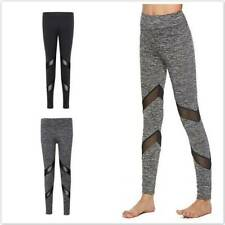 Women's Seamless Leggings Gym Sportswear Yoga Running Training Fitness Pants T3