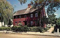 Mystic Seaport Maritime Museum Connecticut Buckingham House Postcard
