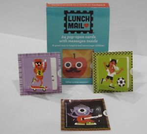"""""""Lunch Mail"""" POP UP Cards Lunch Mom 2 different boxes 48 cards!"""