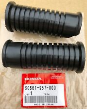 Honda Footpeg Rubbers (Pair) suitable for use with ATC70 ATC 70 (50661-957-000)