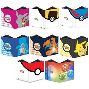 Pokemon Card Folder A4 - Ultra Pro 9-Pocket Pro-Binder - Holds 360 Pokemon Cards