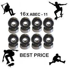16 Abec 11 pro Wheel bearing Skateboard scooter Quad inline Roller skate 5 7 9