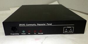 ZETRON ZR310 MOTOROLA SHARED REPEATER TONE CONTROLLER GMRS HAM COMMERCIAL 2-WAY