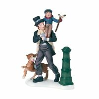Department 56 Dickens A Christmas Carol Bob Cratchit And Tiny Tim Accessory